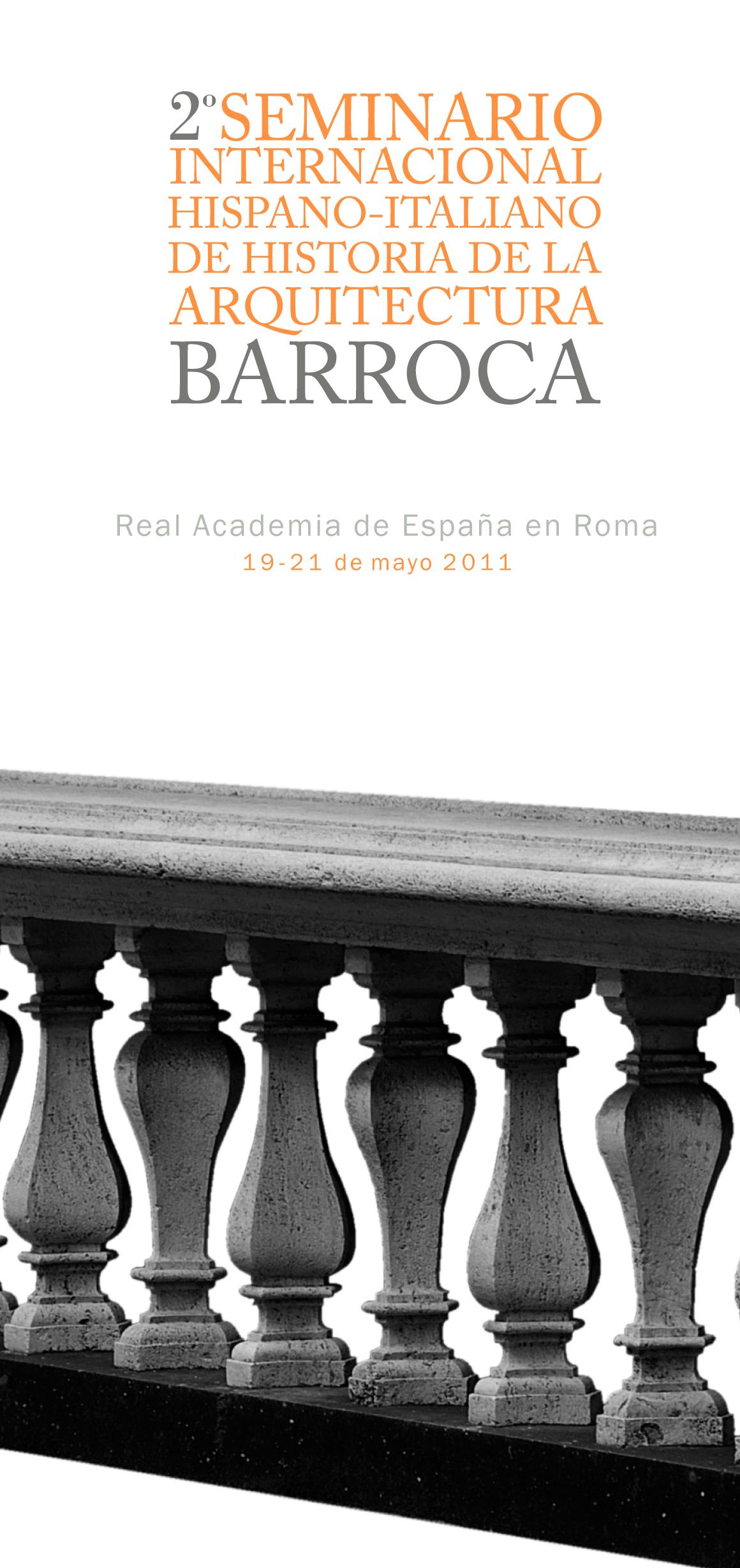 Roma simposio di storia dell architettura barocca presso for Programma di architettura